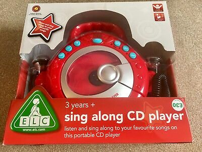 ELC Sing Along CD Player / Karaoke - Boxed
