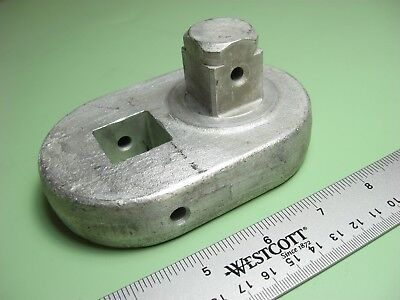 """Swench Curtiss Wright Torque Wrench Adapter Offset Link 1"""" Drive 1-3/4"""" Long"""