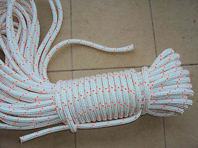 """5/8"""" x  150 ARBORIST/TREE  BULL ROPE TIE-DOWN Safety FREE SHIPPING"""