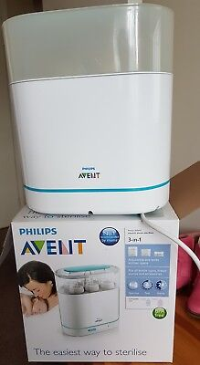 Philips avent 3-in-1 electric steam sterlizer