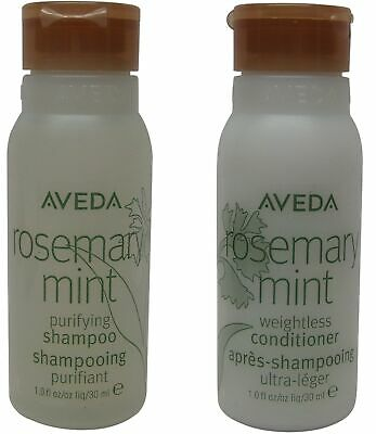 Aveda Rosemary Mint Conditioner and Shampoo Lot of 24 Bottles (12 of each)