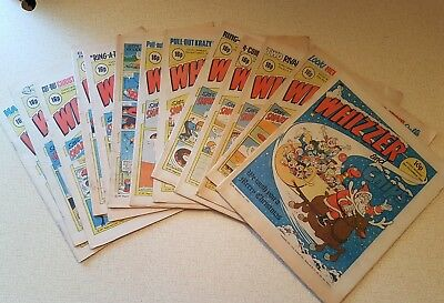 Whizzer and chips comic books 1982 x 13 - Christmas special