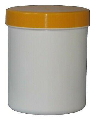 100 Salbendosen Salbendose  Cremdose 250 g 310 ml Deckel Orange