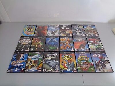Job Lot Collection of 18 Nintendo Gamecube Console Games Star Wars Monkey Ball