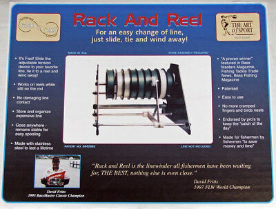 Rack & Reel Fishing Line Station