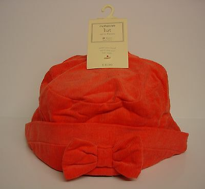 Job Lot 50 x Mothercare Girls Pink Corduroy Hats RRP £200 BRAND NEW (1016-003)