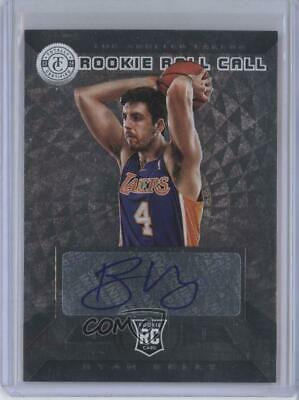 2013-14 Totally Certified Rookie Roll Call Signatures Silver #8 Ryan Kelly Auto