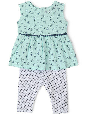 NEW Sprout Tunic and Legging Set Mint