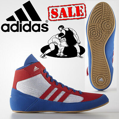 adidas Havoc Kids Wrestling Shoes Boys Girls Retro Trainers CLEARANCE SALE