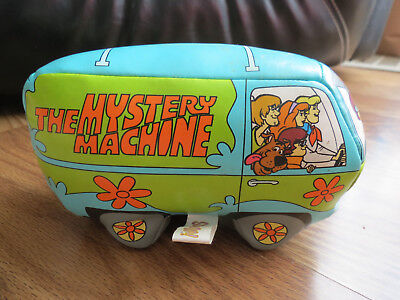 """The Mystery Machine Scooby Doo Volkswagon Bus Polyester Fiber Filled 7"""" Long"""