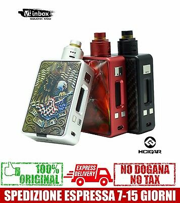 Hcigar VT Inbox Squonk Kit Bottom Feeder BF - BLACK - Evolv DNA75 Chip Maze V1.1