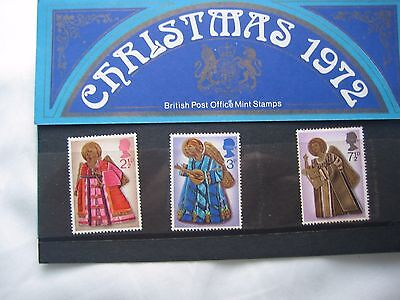 British Stamps - Christmas 1972 - MNH