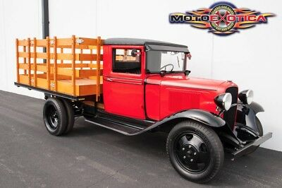 1933 Other Makes G80 Stakebed 1933 Chevrolet Master 1.5-Ton Stakebed Truck