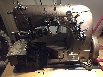 Union Special 52700 BR elastic band coverstitch industrial sewing machine