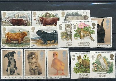 GB Wildlife MNH (13 Stamps) Face Postage 3 Pounds ( Ag1588s