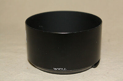 GENUINE MINOLTA CLIP ON LENS HOOD FOR 70-210mm/ 4 AF LENS VG.6613