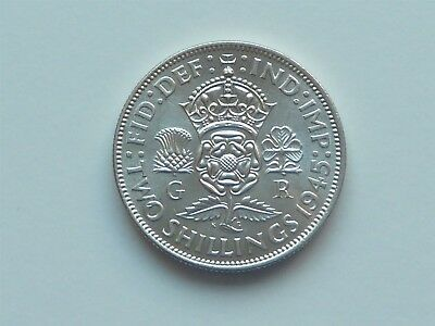 1945 2/- Two Shillings Uncirculated