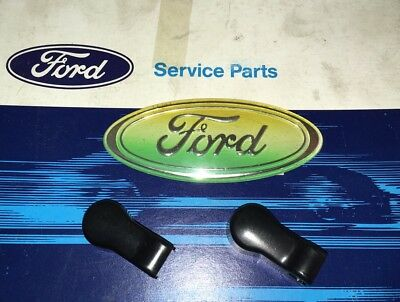 New genuine Ford Escort Mk2 wiper arm plastic nut covers - Grp4 Rally X2 Trico