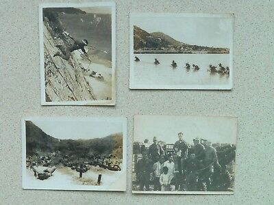 4 SOUTH VIETNAM ARMY VN WAR PHOTOS, RIVER CROSSING / ABSAILING etc