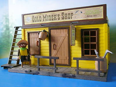 "Playmobil Western House/ Haus "" Gold Miner's Shop "" ACW Custom/Unikat LGB Spur G"