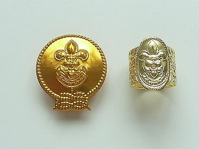 2 Thailand Boy Scouts Woggles
