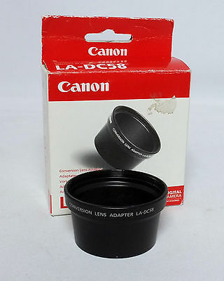 Canon Conversion Lens Adapter LA-DC58 for Powershot G1 G2 digital camera