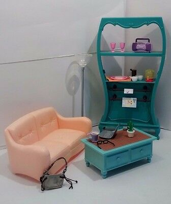 Barbie My Scene Furniture Lot My Cafe Shop Playset Accessories Couch Table