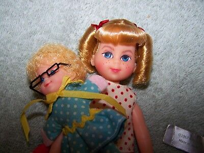 Vintage Mattel  Buffy & Mrs. Beasley Doll Family Affair 1967 Exc To Nm