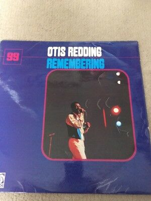 Otis Redding Remembering Atlantic Red Plum LP Vinyl Stereo