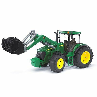 Bruder Toys Agriculture John Deere 7930 Plastic Tractor with Tipping Frontloader