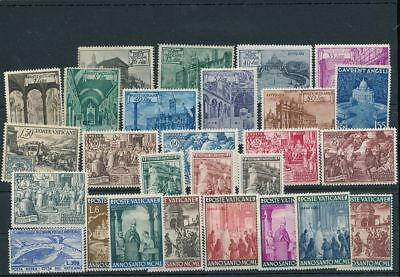 VATICAN Earlies Air Religion MH MNH (25+Stamps) AG1633s