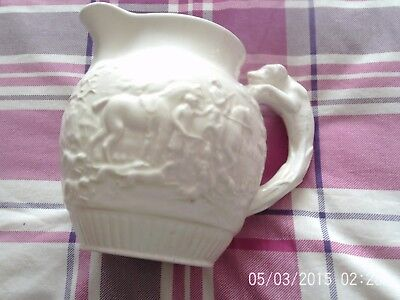 creamy white large jug wedgwood