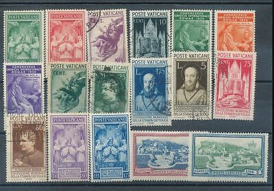 VATICAN Earlies Used MH (15+Stamps) AG1007s