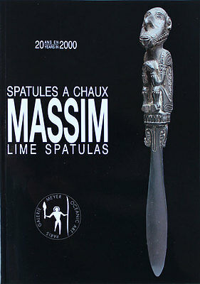 Catalogue Spatules à Chaux MASSIM Lime Spatulas par DR Harry BERAN