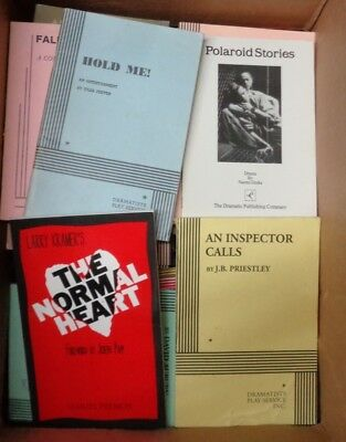 Lot 80 Samuel French Dramatists Play Scripts Acting Editions Comedy Drama