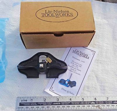 NEW UNUSED Boxed Lie Nielsen Small Router Plane LN 271