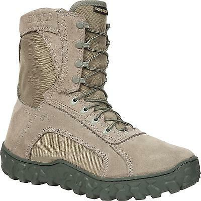 Rocky Tactical Boots Mens S2V GTX Waterproof Coyote Brown SIZE 42