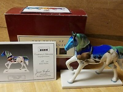 Trail of Painted Ponies RETIRED NORTHERN LIGHTS LOW 1E/0316 SIGNED 49/250