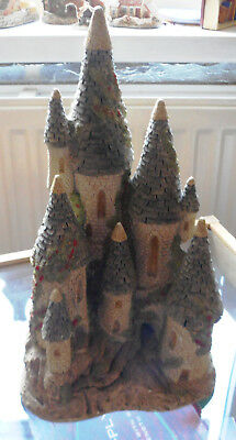 Fairytale Castle by David Winter - handmade and painted