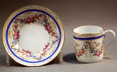 Antique Nymphenburg small coffee cup