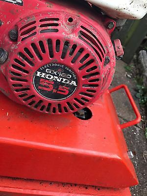 Grab A Bargain !!  For sale a used vibrating compactor plate Honda petrol engine