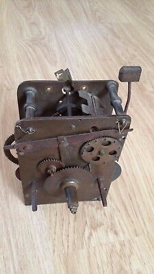 Very Early grandfather/ lantern?? clock movement C 1700, blacksmith  movement