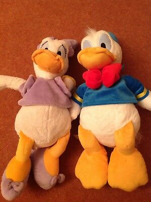 donald & daisy duck soft toys
