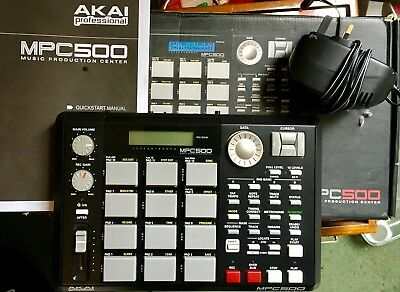 Akai MPC 500 MPC500 portable sampler sequencer memory upgraded to 256MB