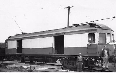 Hagerstown & Frederick RY H&FRY Photo Freight Motor  #1 & Crew
