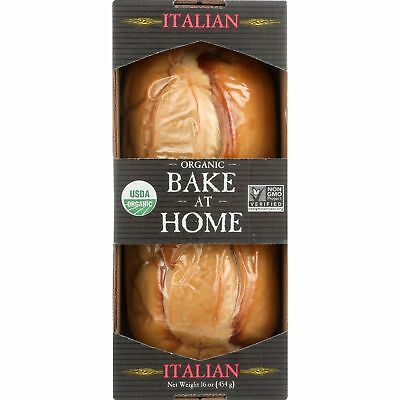Essential Baking Company Bread - Organic, Bake at Home, Italian - case of 12