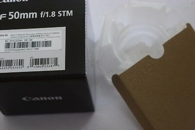 Canon EF 50mm F/1.8 STM Lens Box Only