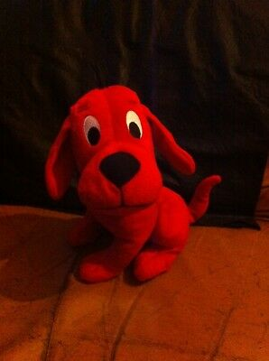 """Clifford The Big Red Dog 10"""" Plush Soft Toy"""
