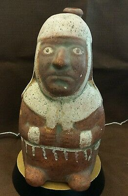 1970s Replica PreColumbian Moche Pottery -Peru- Stirrup Spout Vessel Tribal B