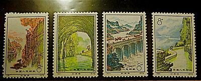 "CHINA 1972 "" Red Flag Canal ""MNH PERFECTOS. SERIE NUEVA COMPLETA. MAGNIFICOS"